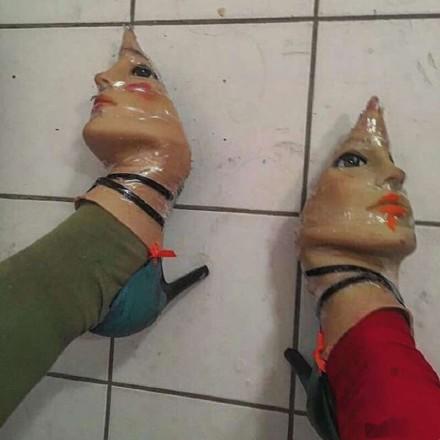 奇葩的高跟鞋大赏  最后一双九死一生鞋你敢穿么?