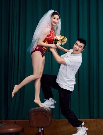 何雯娜晒与梁超奥运婚纱照 浪漫温馨甜蜜满满!
