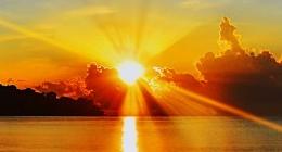梦幻唯美的日出日落图片 美的如诗如画